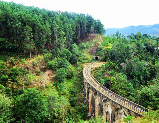 Train Ella Nine Arche Bridge