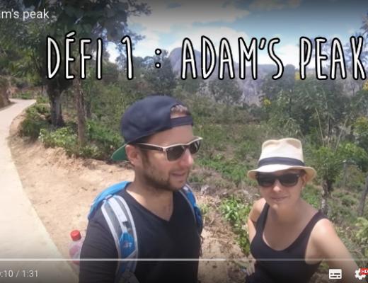 Défi n°1 : Adam's Peak