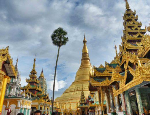 Shewdagon pagoda Yangon Myanmar