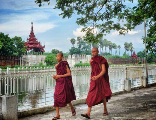 Moines Myanmar Mandalay
