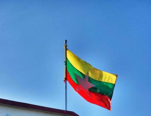 Inle - Drapeau Myanmar