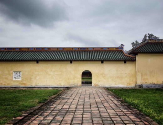 Hue - Citadelle - Wall