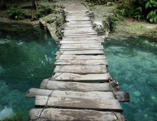 Moalboal - Kawasan Fall - Bridge