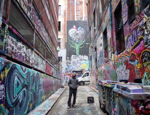 Melbourne - Street Art - Flo