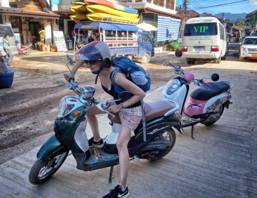 Assurance voyage Anaïs scooter