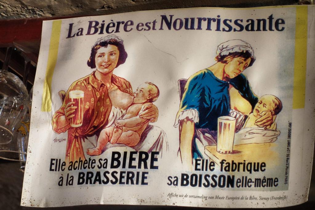 la biere est nourrissante