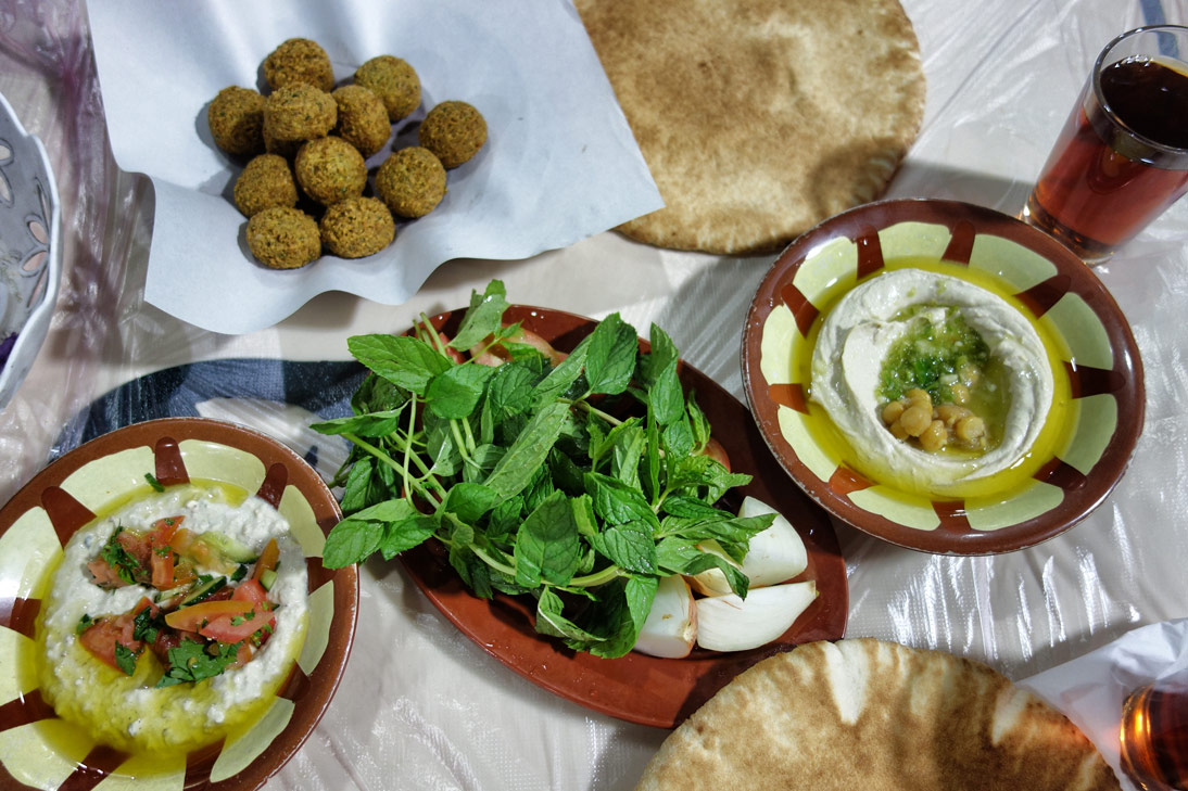 Amman-Hashem-Restaurant-Mezze
