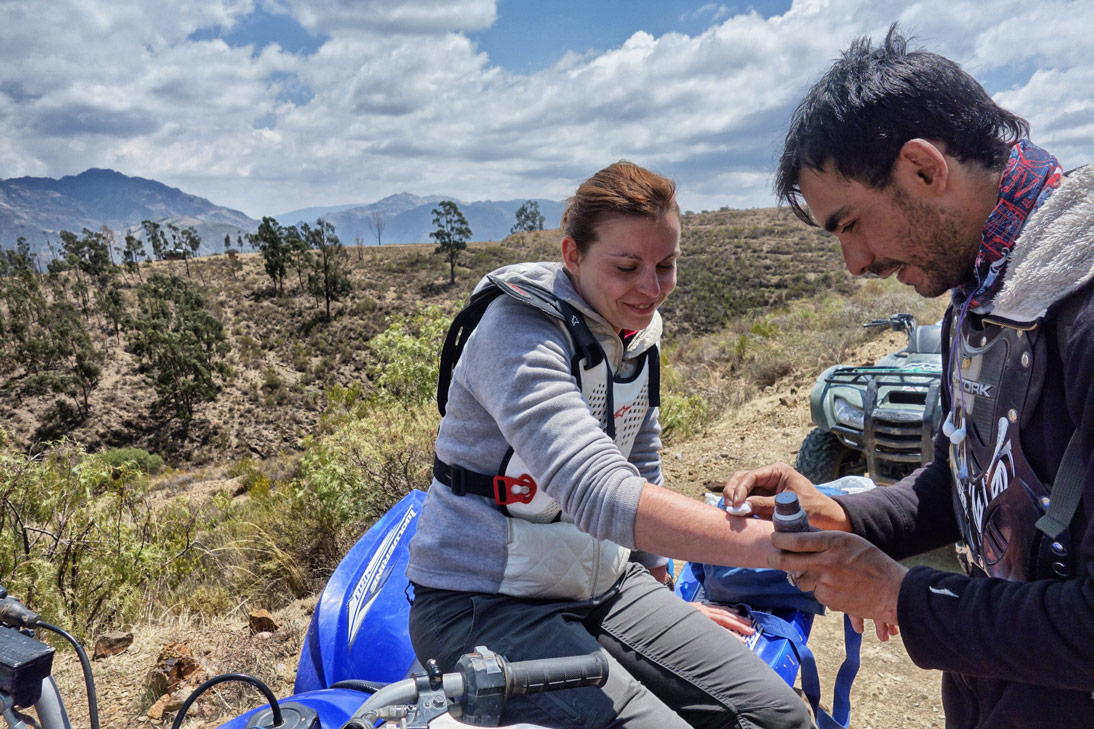 Bolivie Sucre Quad Medecin frayeur peur