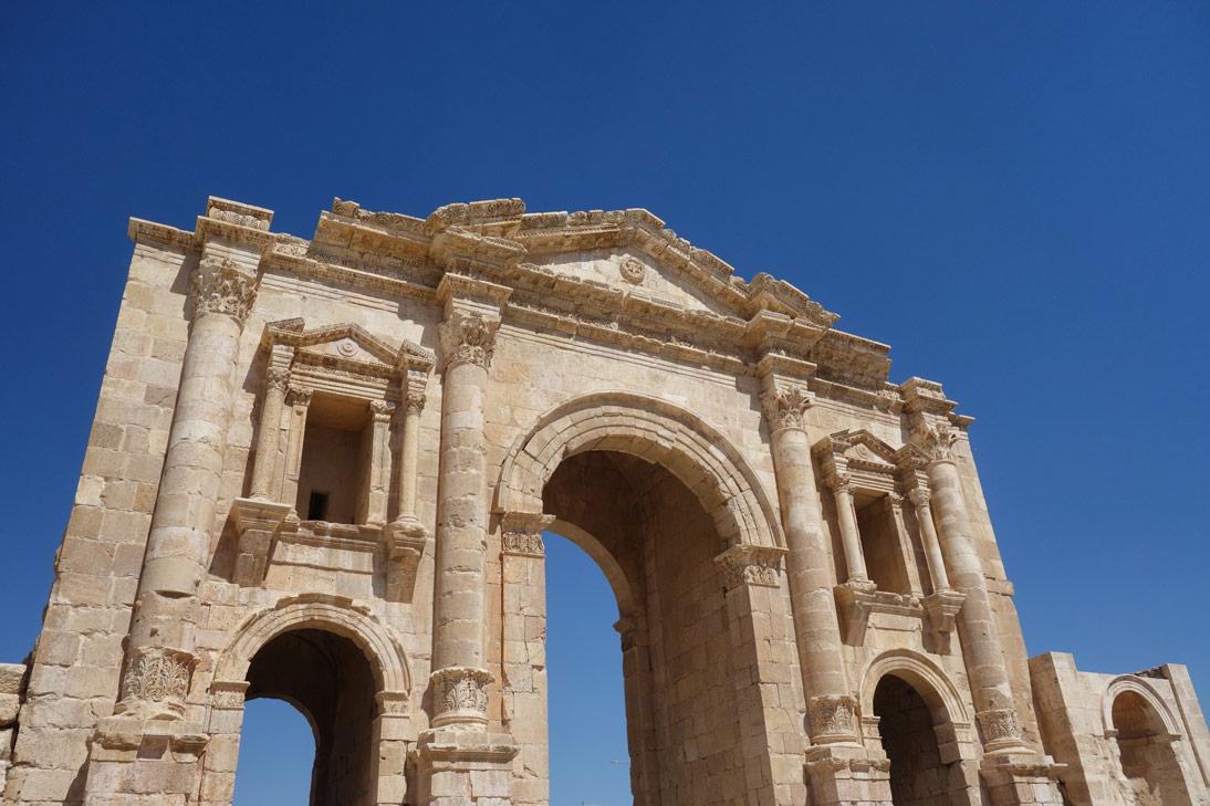 Jerash Arc de Triomphe Hadrien