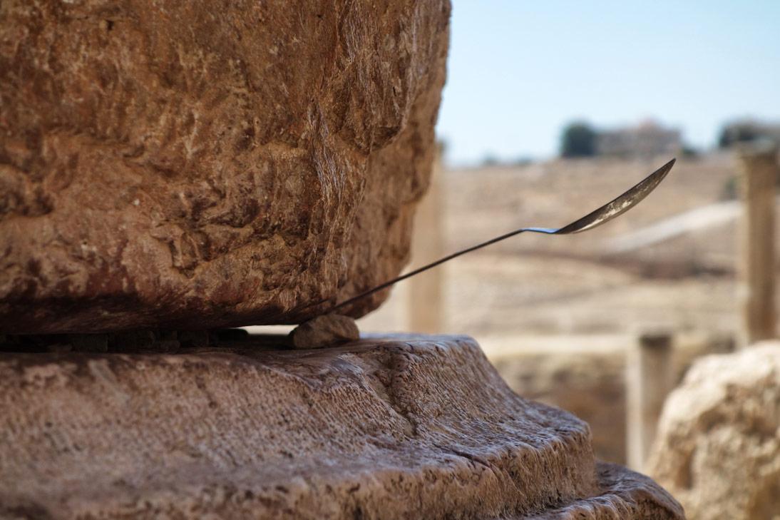 Jerash Cuillere Temple Artemis