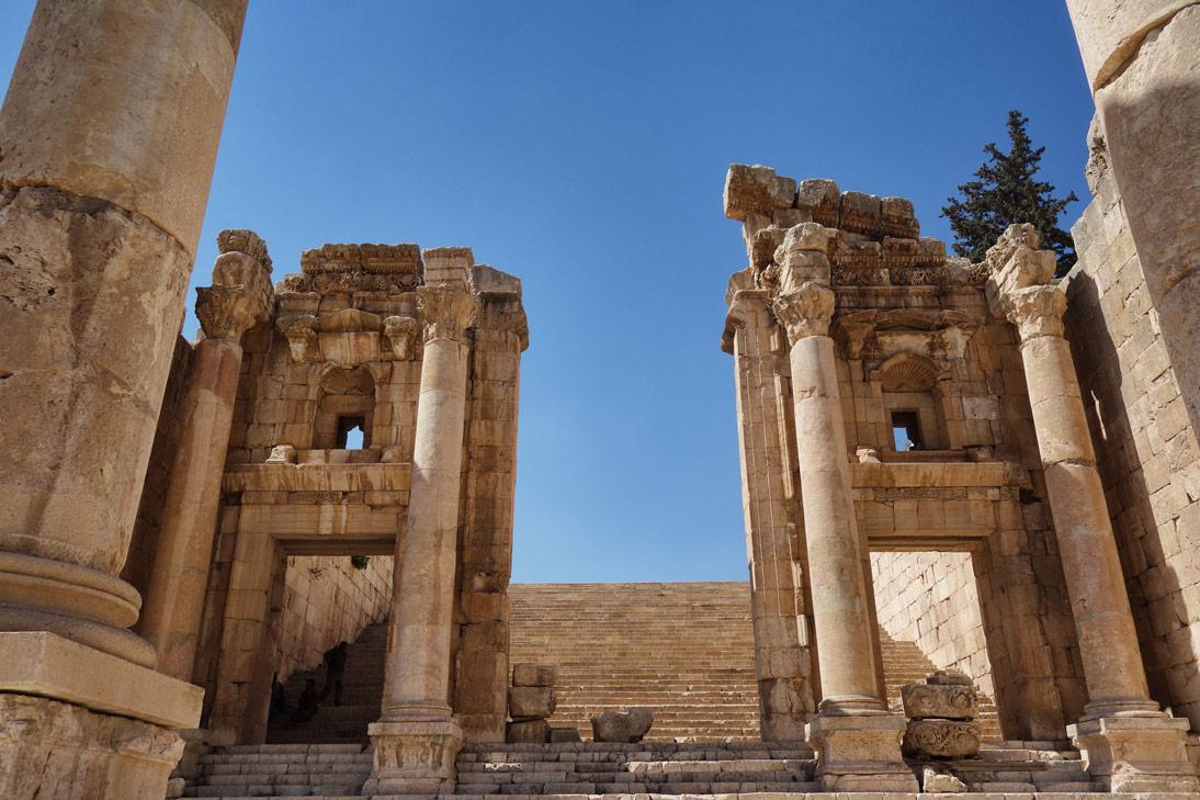 Jerash Escaliers