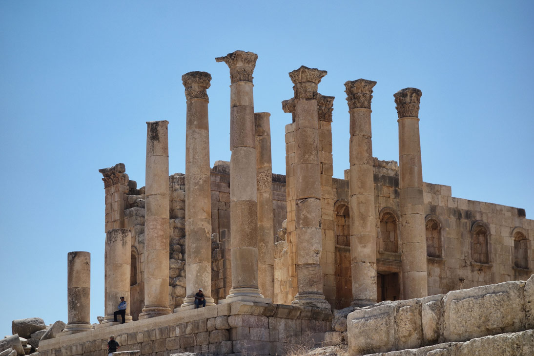 Jerash Temple de Zeus