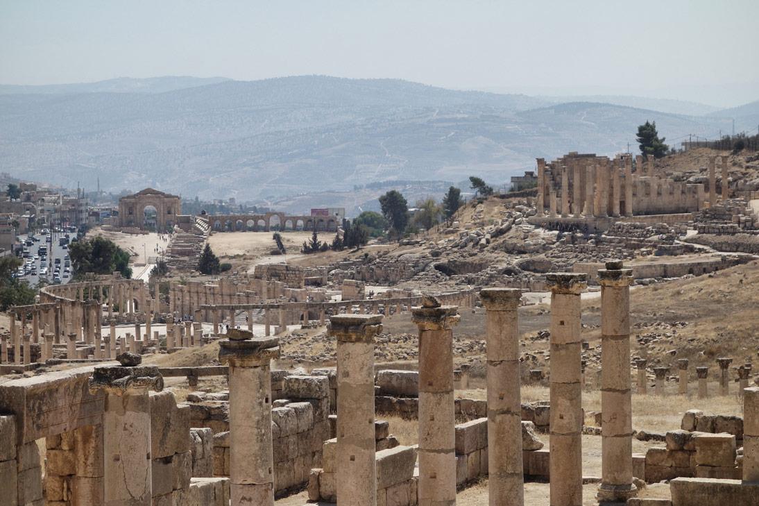 Jerash Vue