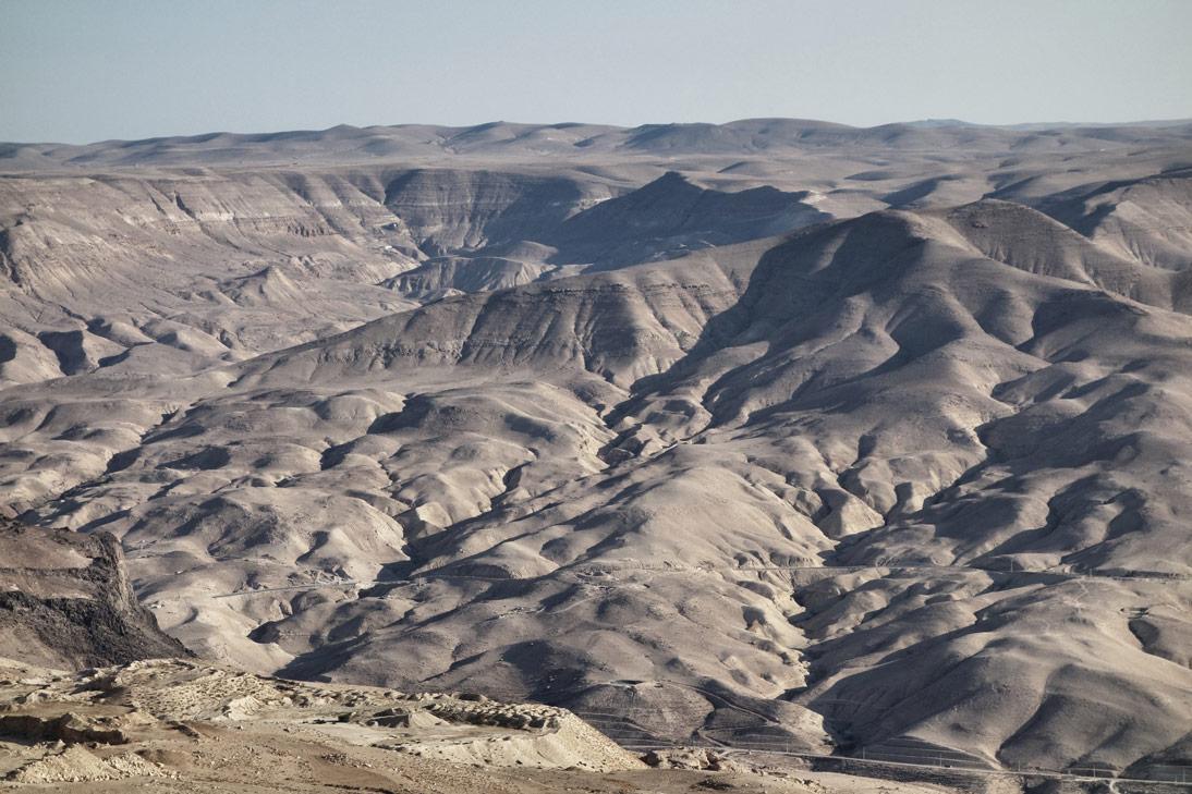 Montagnes Jordanie