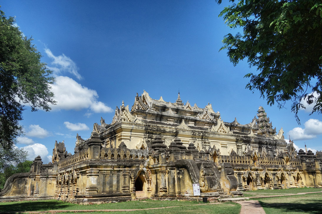 Myanmar Inwa Temple