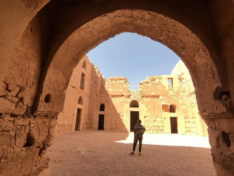 Qasr El Karana Interieur Anais