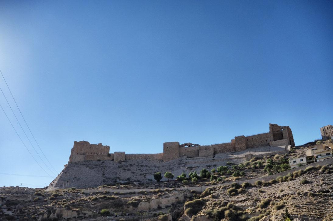Chateau Karak Jordanie