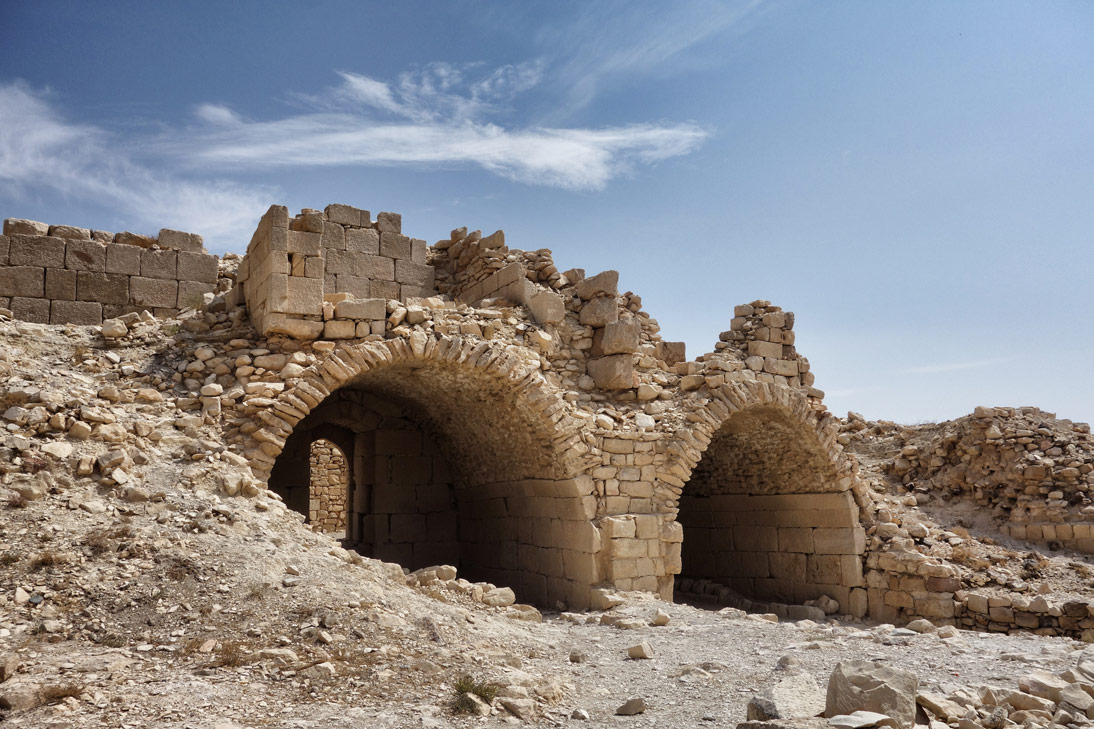 Chateau de shawback Ruines Jordanie
