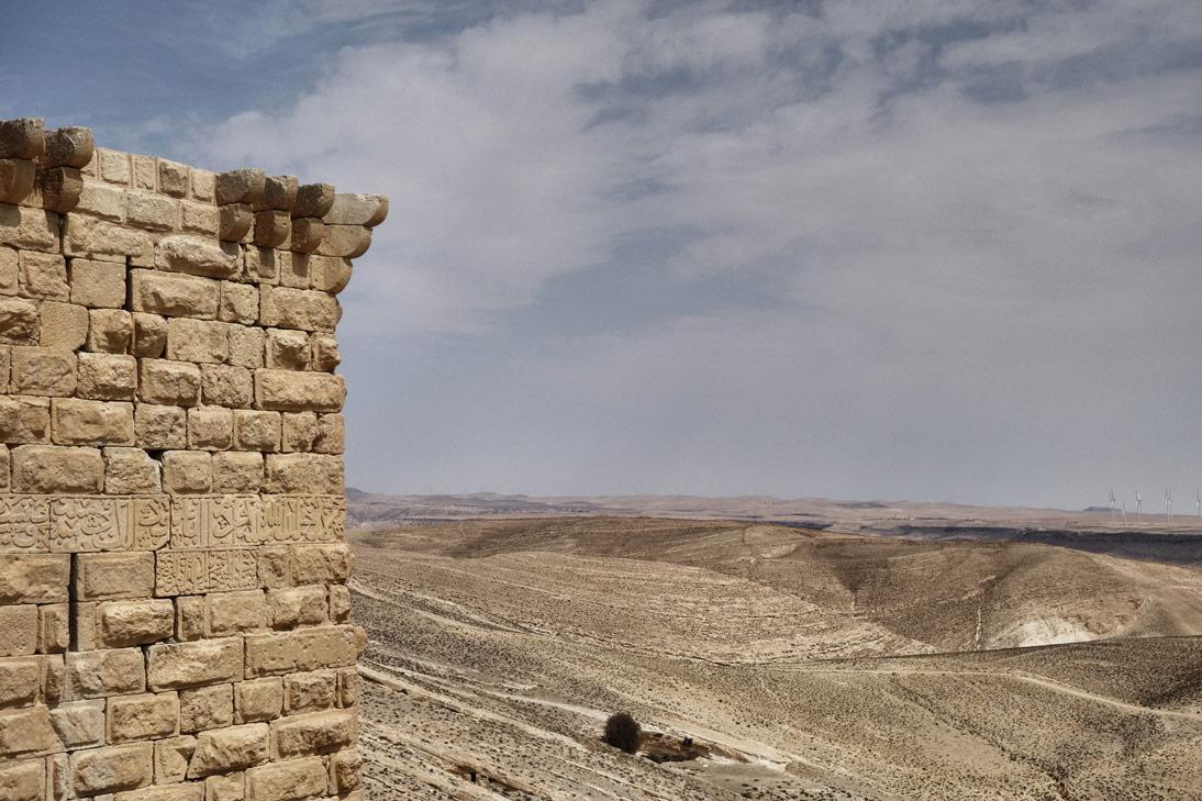 Chateau de shawback mur Jordanie