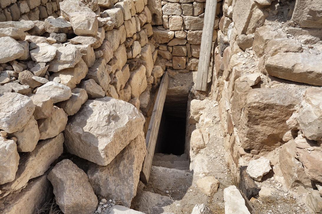 Chateau de shawback passage Jordanie