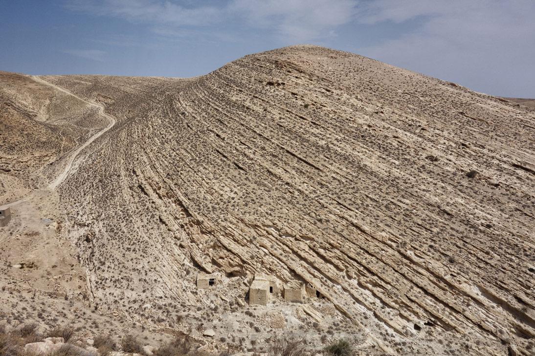Chateau de shawback vue Jordanie