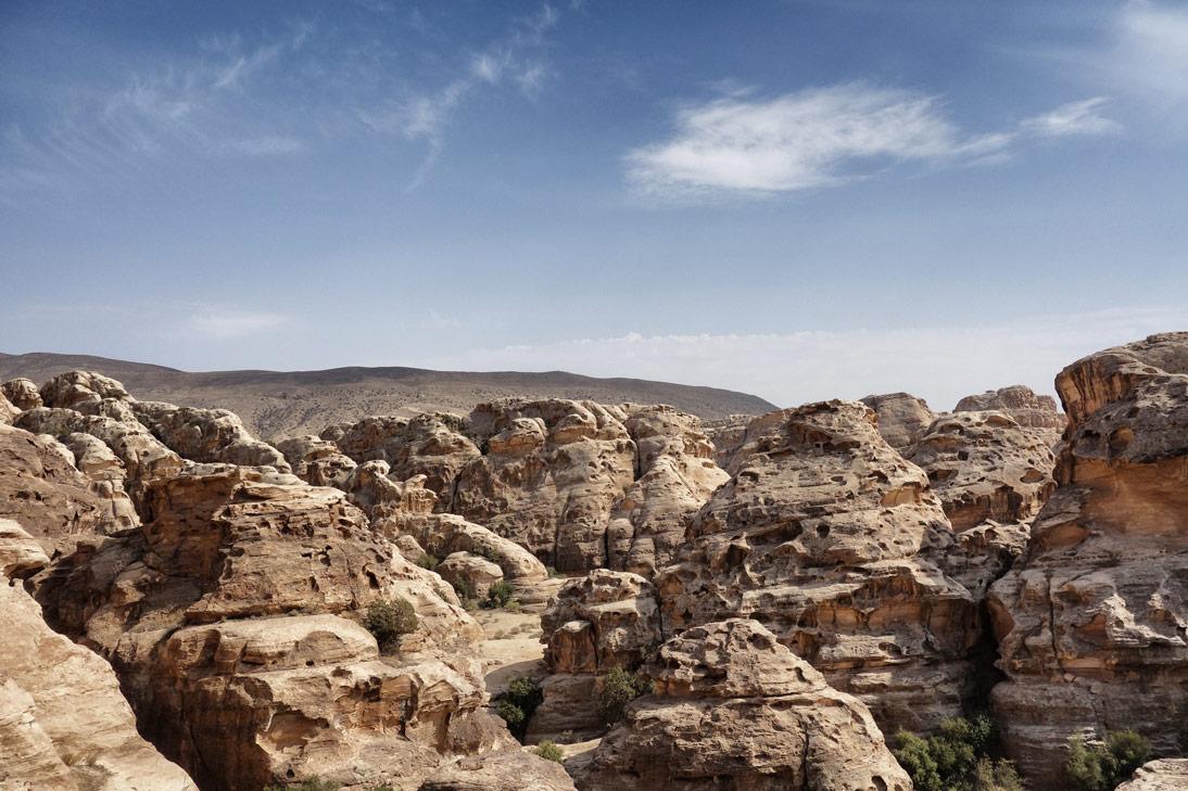 Little Petra Montagnes Jordanie