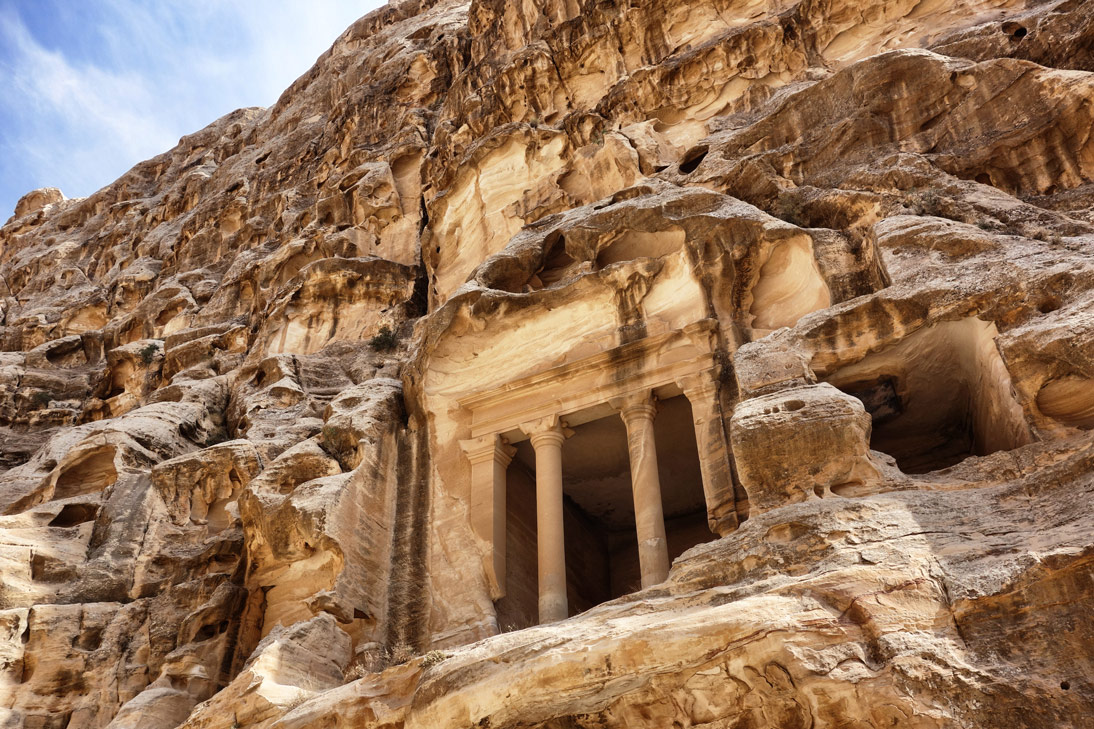 Little Petra Temple Jordanie