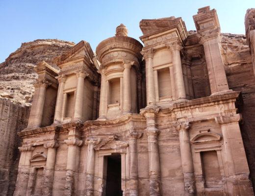 Petra Jordanie Monastere Montagne