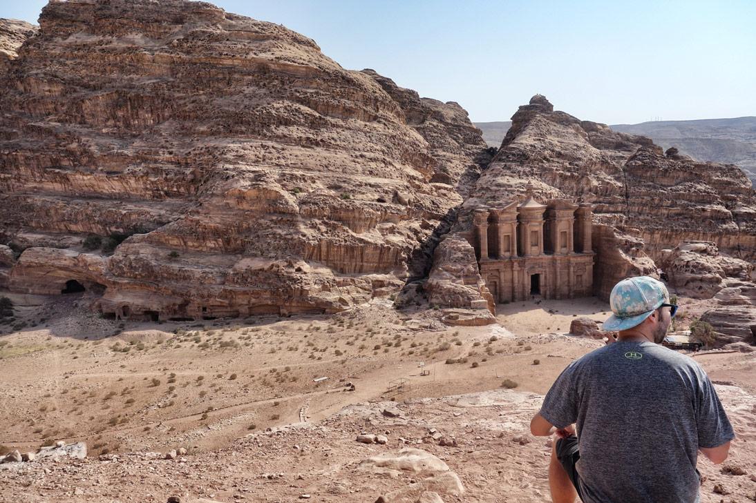 Petra monastere Flo Jordanie