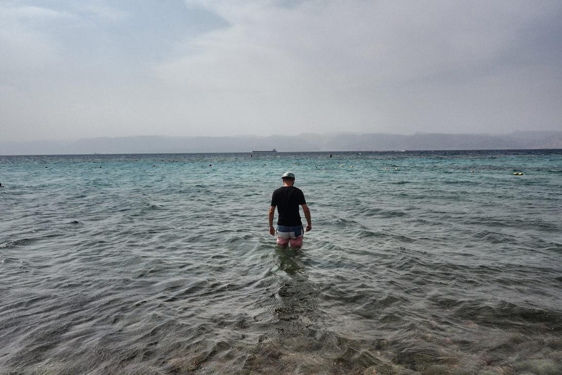 Aqaba Jordanie Mer Rouge