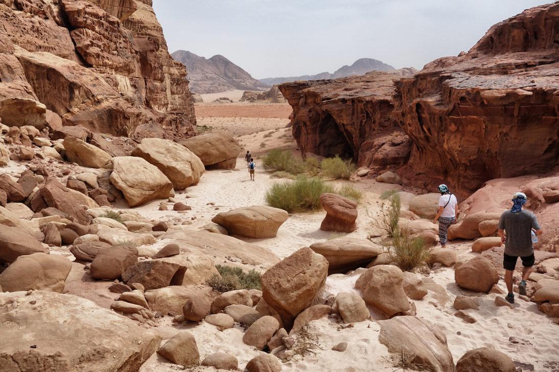 Balade dans le désert Wadi Rum