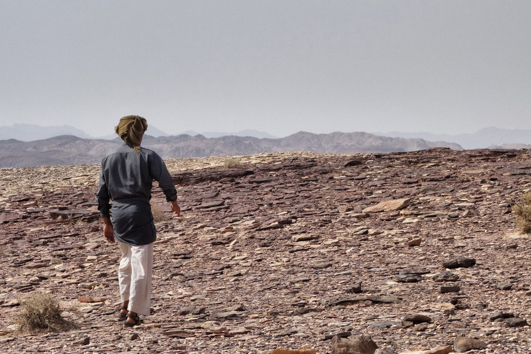 Jean Claude Bedouin Wadi Rum