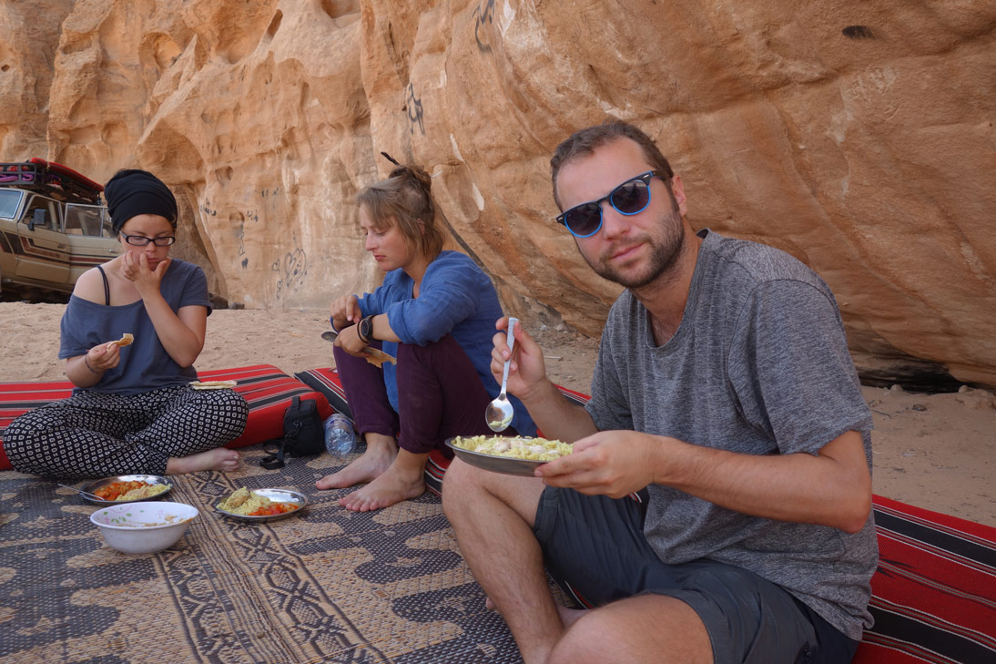 Miam miam Wadi Rum