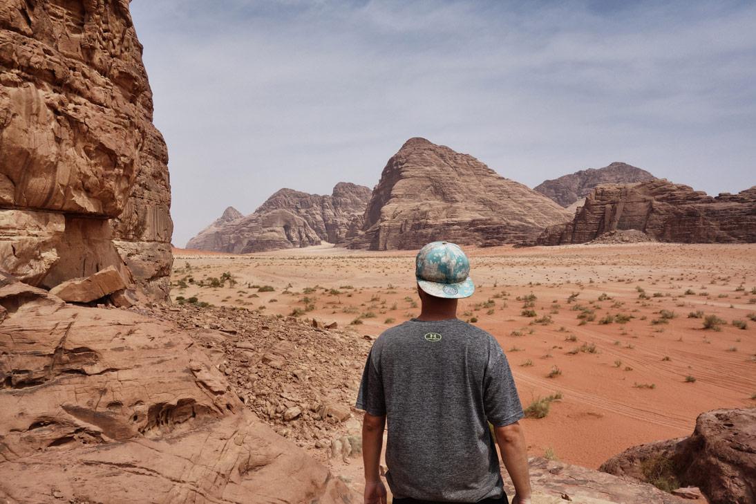 Point de vue désert Wadi Rum