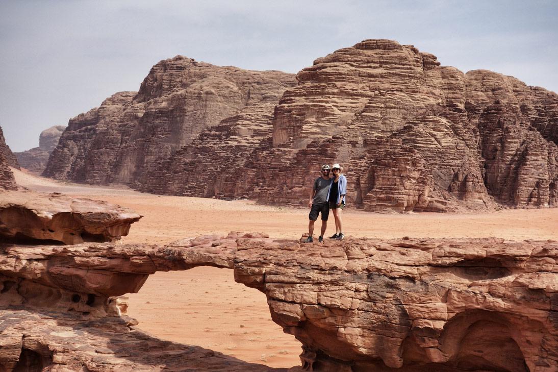 Pont roches Wadi Rum