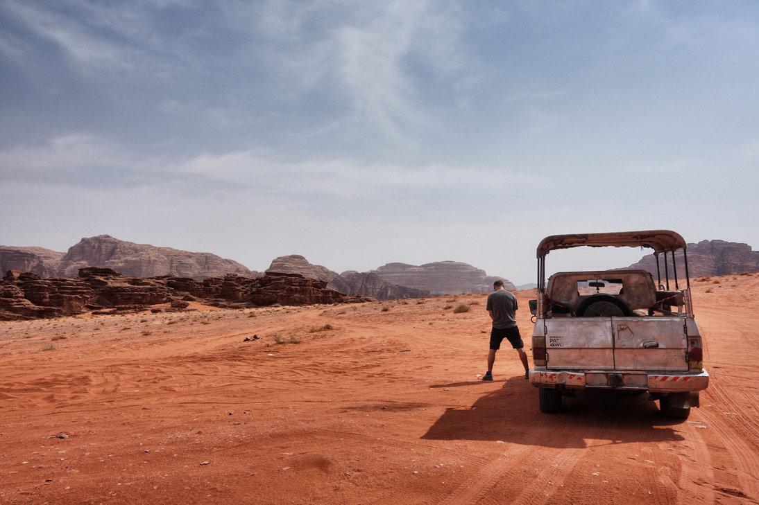 Wadi Rum 4x4 arrosage