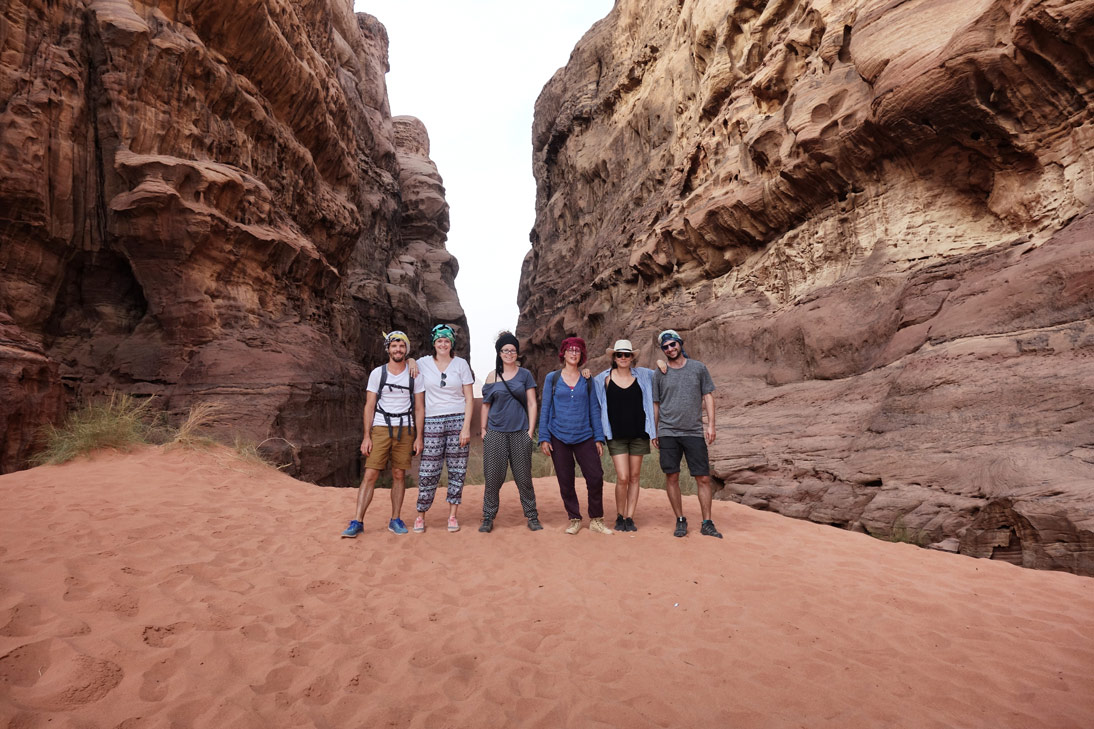 Wadi Rum Désert Copains
