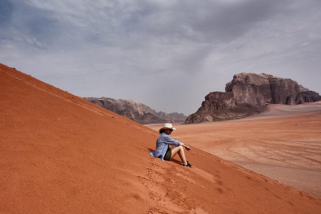 Wadi Rum Dune AnaIs