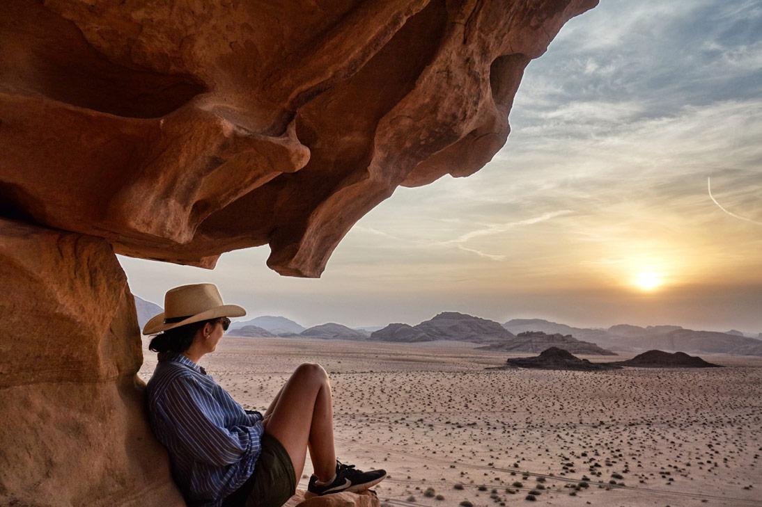 Wadi Rum coucher de soleil