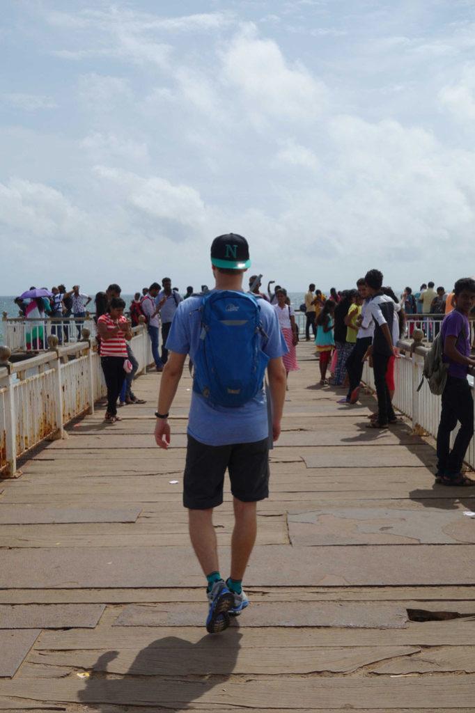 Sri Lanka Colombo Plage Jetée