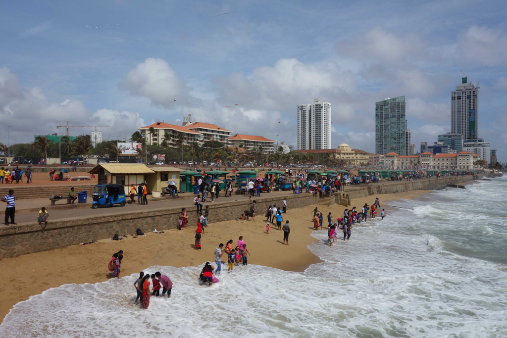 Sri Lanka Colombo Plage