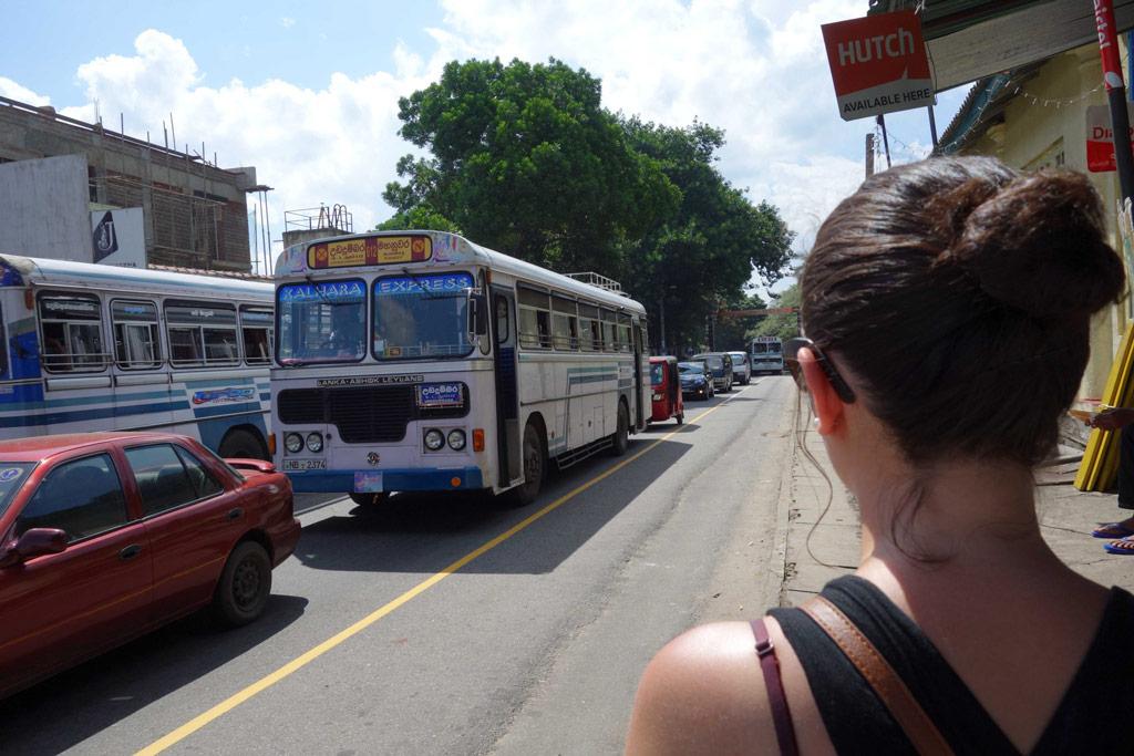 Sri Lanka Kandy Bus
