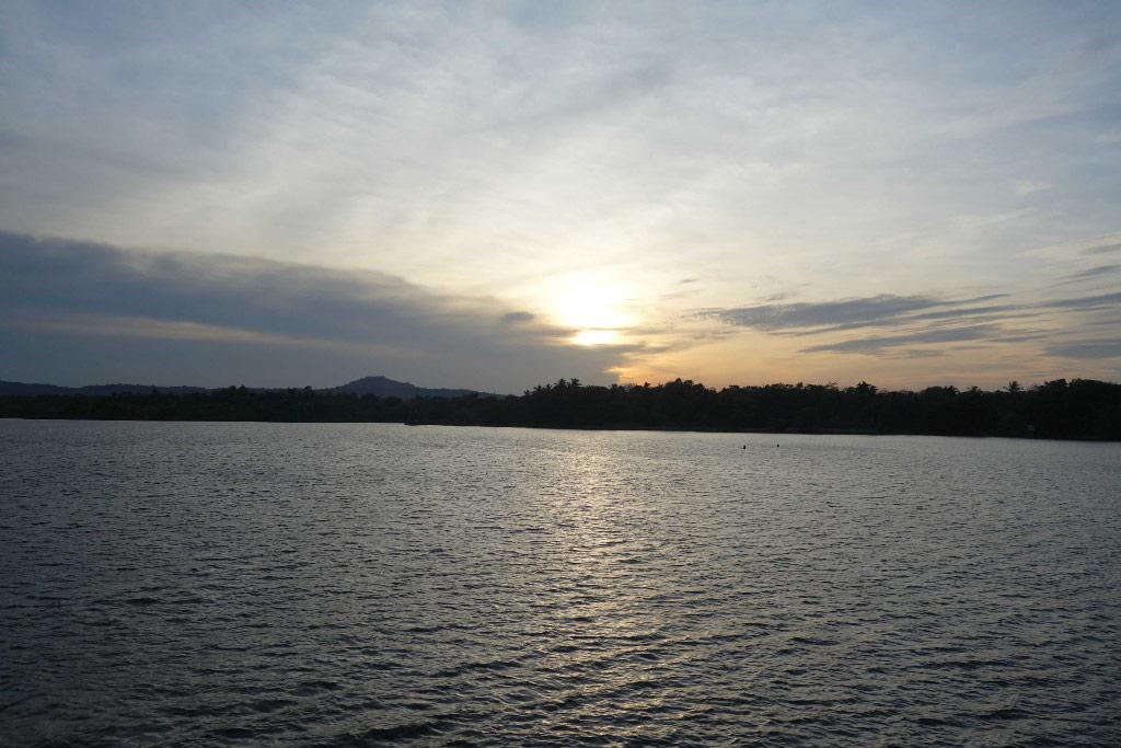 Sri Lanka Kaudulla Coucher de soleil